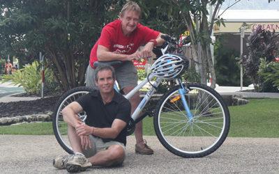 Cyclists share heartfelt passion